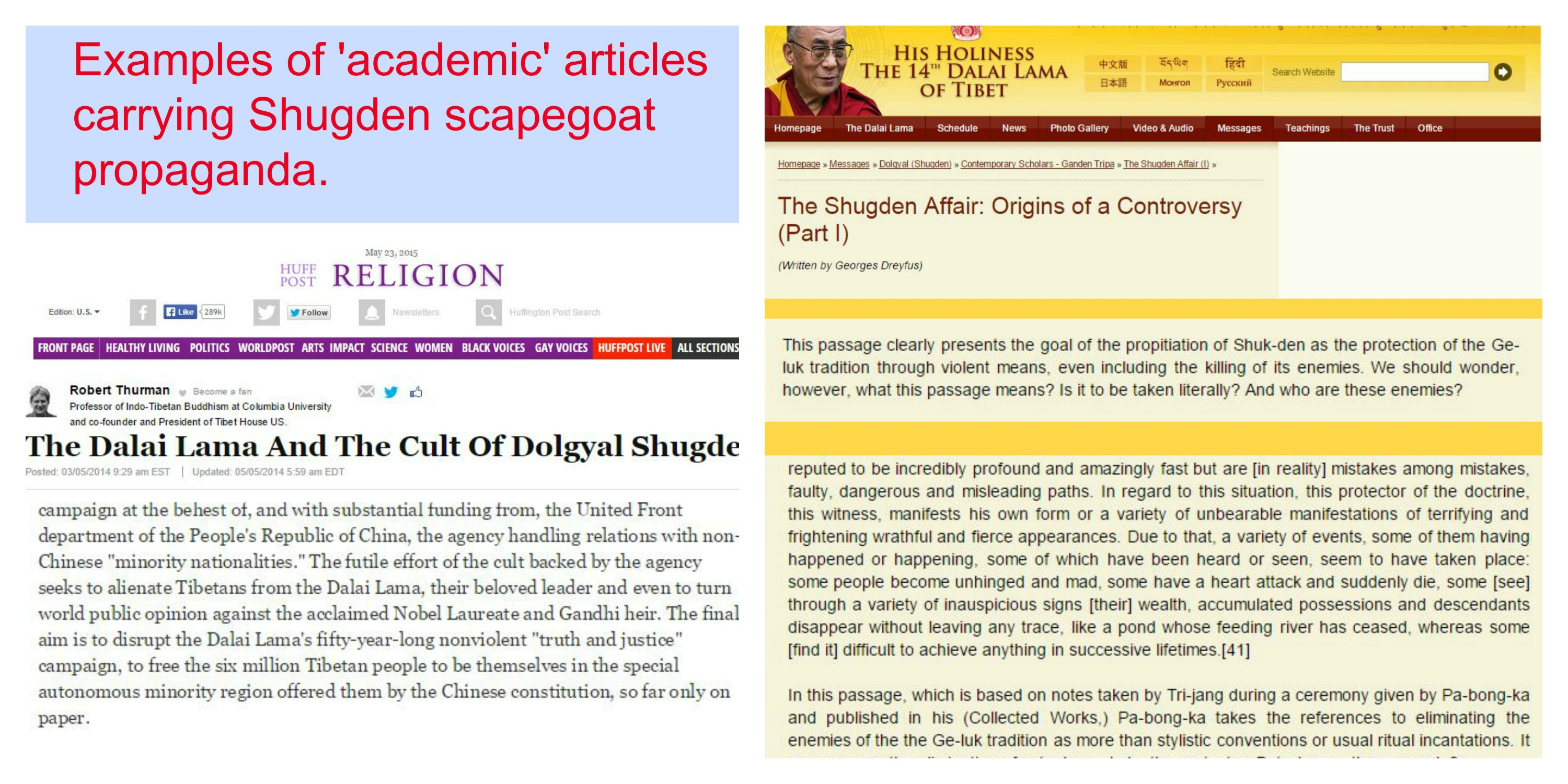 Part Four – The Shugden Scapegoat – Gilded Cage Articles