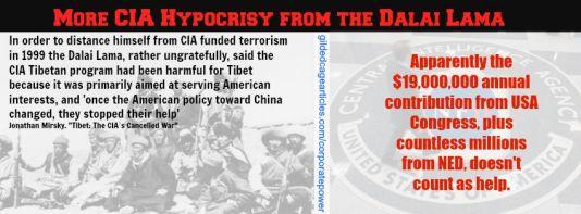 CIA HYPOCRISY