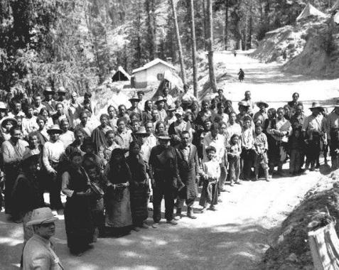 Refugees_Dharamshala_1965