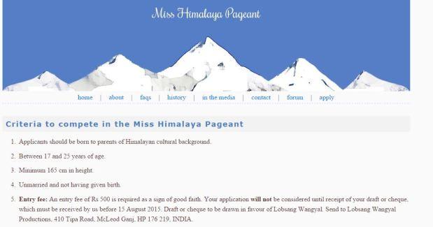 miss himalaya